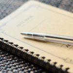 家族の大切さをつづったノート